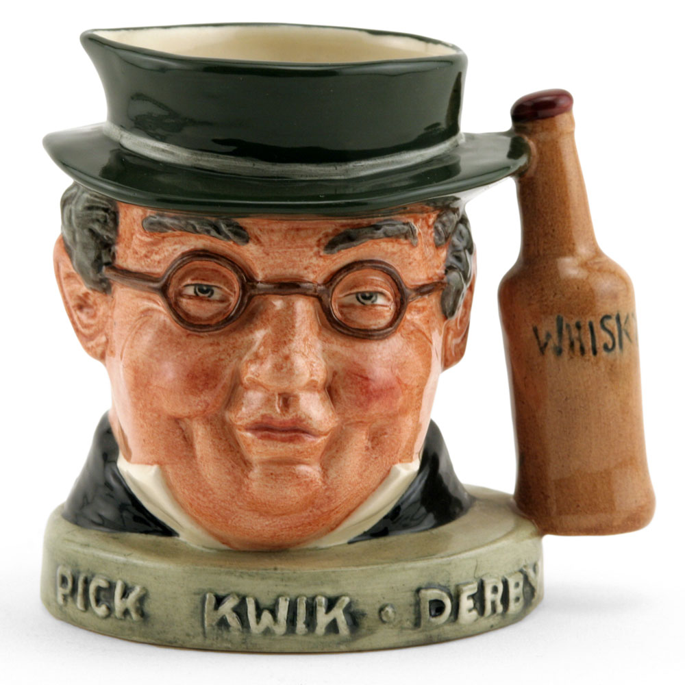 Mr Pickwick (Whiskey Var. 1) - Royal Doulton Liquor Container