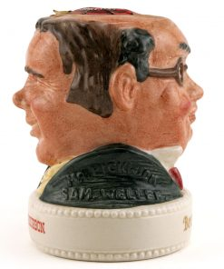 Mr. Pickwick and Sam Weller - Royal Doulton Liquor Container