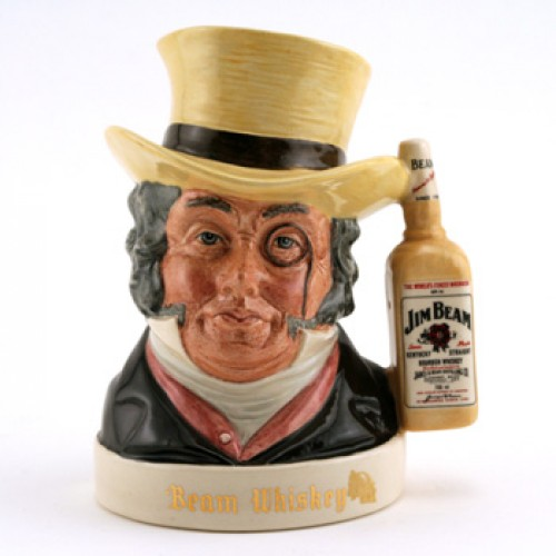 Old Mr. Turverydrop - Royal Doulton Liquor Container