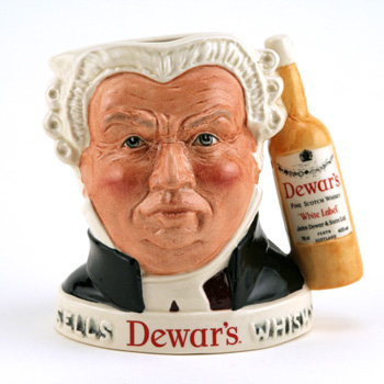 Sgt. Buz Fuz (Dewar's Handle) - Royal Doulton Liquor Container