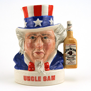Uncle Sam (JB Handle Var. 1) - Royal Doulton Liquor Container