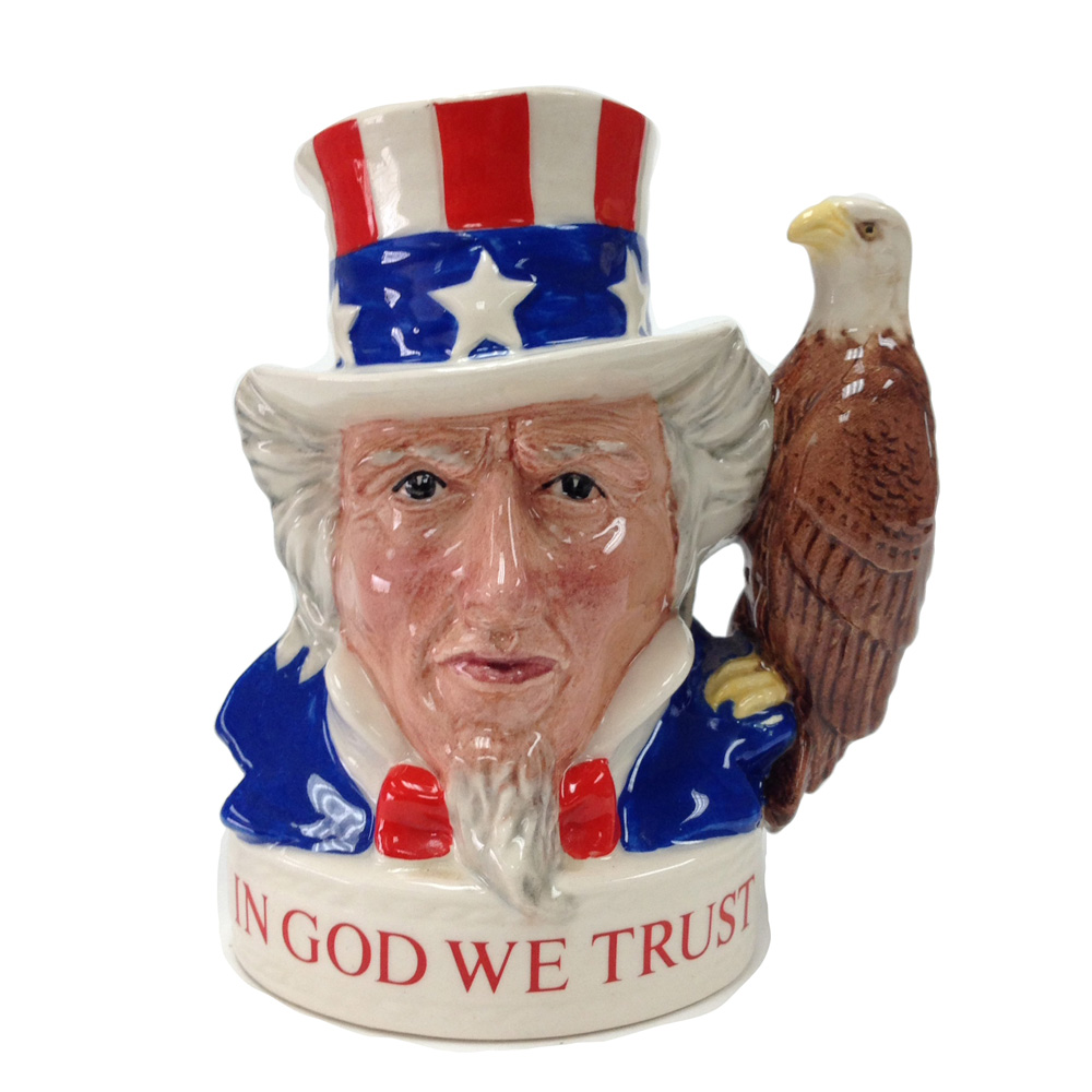 Uncle Sam Eagle (Var. 1) - Royal Doulton Liqur Container