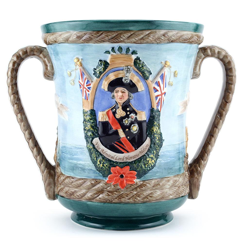 The Nelson Loving Cup 1805-2005 - Royal Doulton Loving Cup