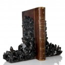 Kathryn McCoy Bookends Black Quartz Large