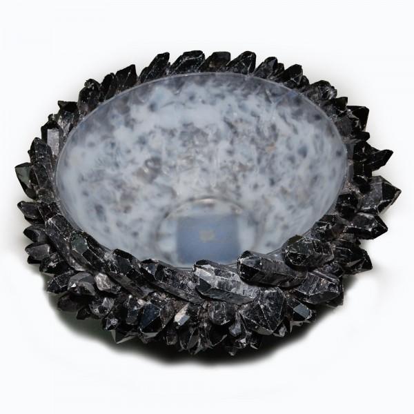 Kathryn McCoy Bowl Black Quartz Extra Large