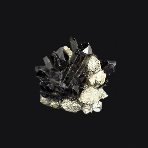 Kathryn McCoy Votive Medium Pyrite and Black