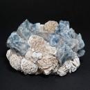 Kathryn McCoy Votive Small Desert Rose Blue Calcite 3