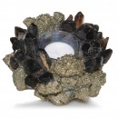 Kathryn McCoy Votive Small Pyrite and Black