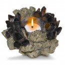 Kathryn McCoy Votive Small Pyrite and Black 2