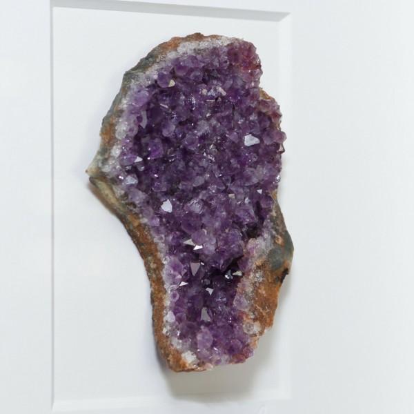8 x 10 Amethyst - purple coloration