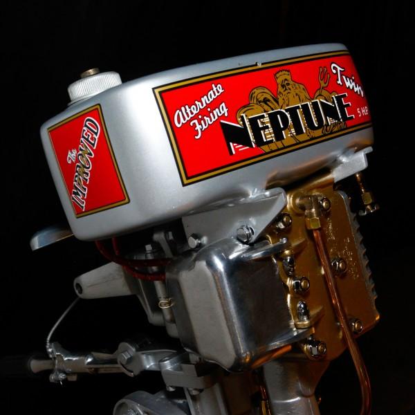 The Neptune Twin 1940 Boat Motor