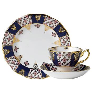 1900 Regency - 3pc Teacup Set - Royal Albert