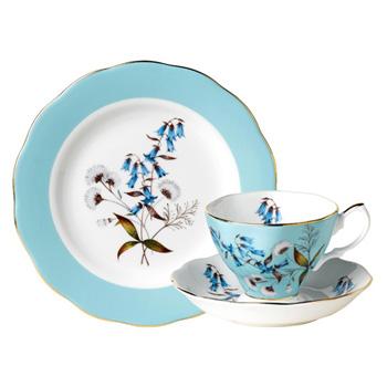1950 Festival - 3pc Teacup Set - Royal Albert