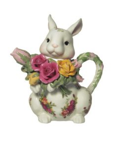 Old Country Roses Bunny Teapot - Royal Albert