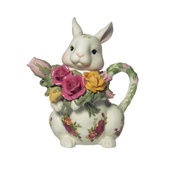 Old Country Roses Bunny Teapot - Royal Albert