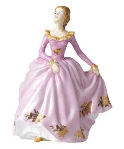 1960 Golden Roses - Lisa RA18 - Royal Albert