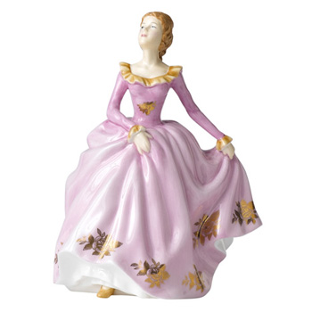 1960 Golden Roses - Lisa RA18 - Royal Albert