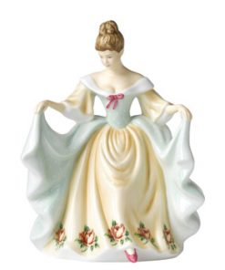 1930 Polka Rose - Mary RA15 - Royal Albert
