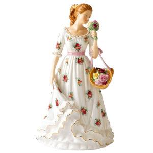 Sweet Roses RA26 - 2011 Royal Albert - Figure of the Year