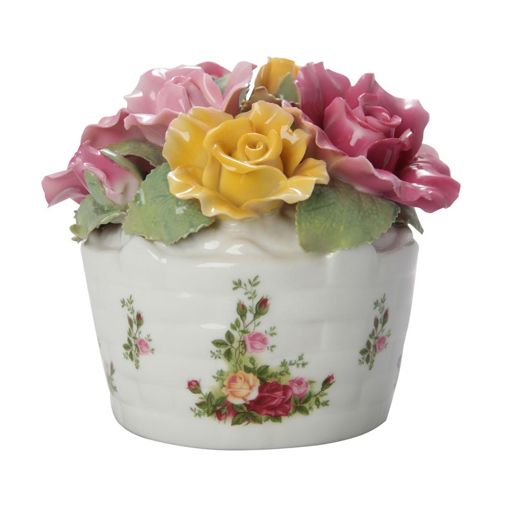 Flower Musical Box - Royal Albert