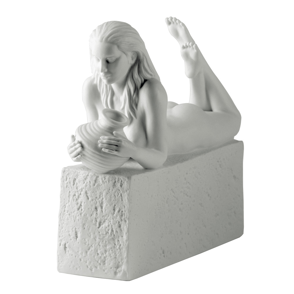 Aquarius Female - Royal Copenhagen Figurine