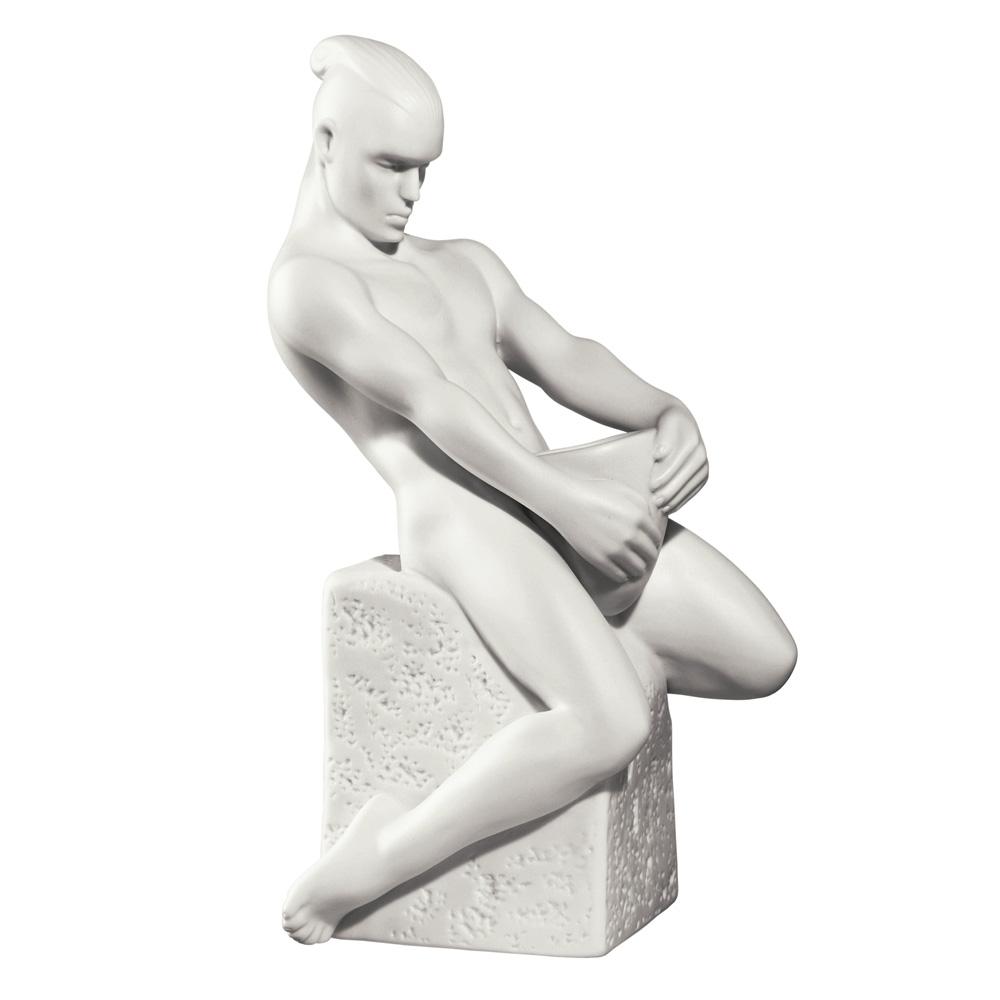 Aquarius Male - Royal Copenhagen Figurine