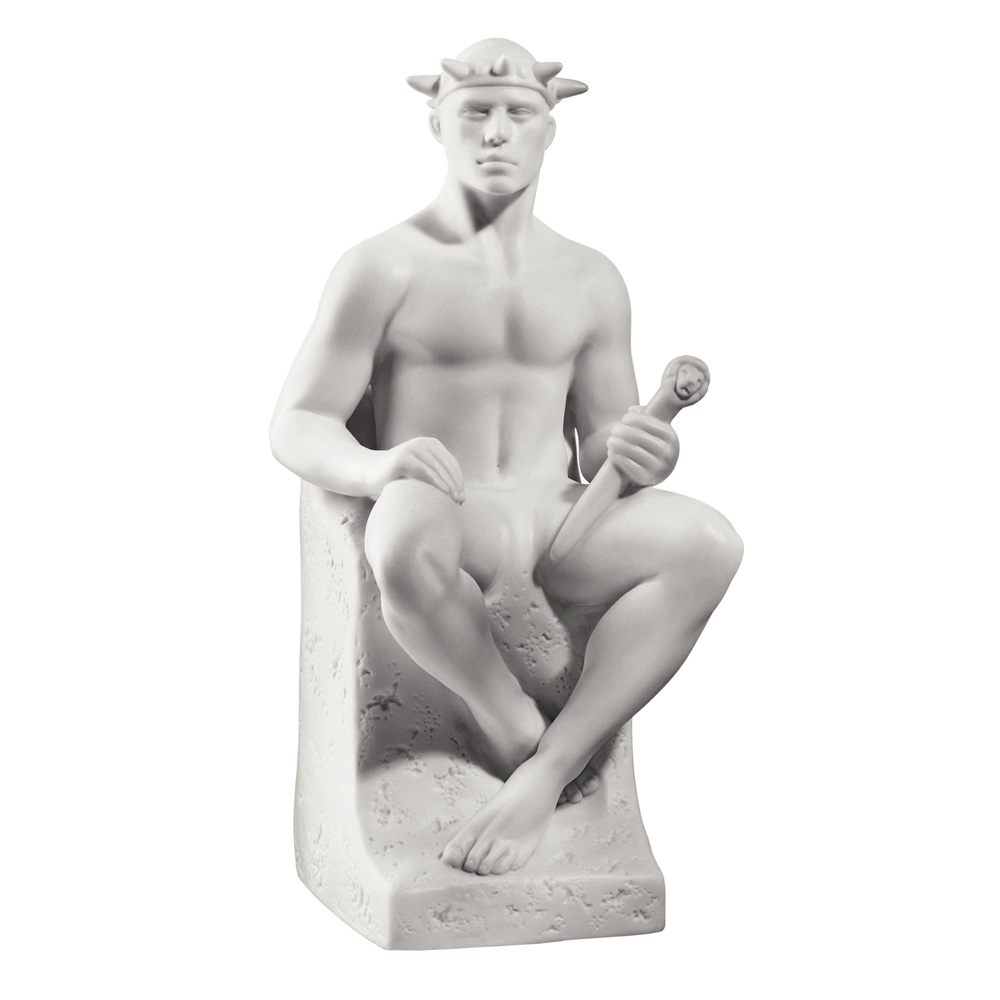 Leo Male - Royal Copenhagen Figurine