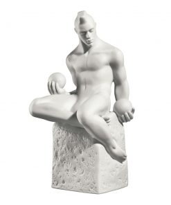 Libra Male - Royal Copenhagen Figurine