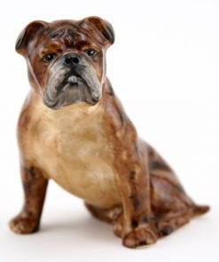 English Bulldog Brindle RW2945 - Royal Worcester