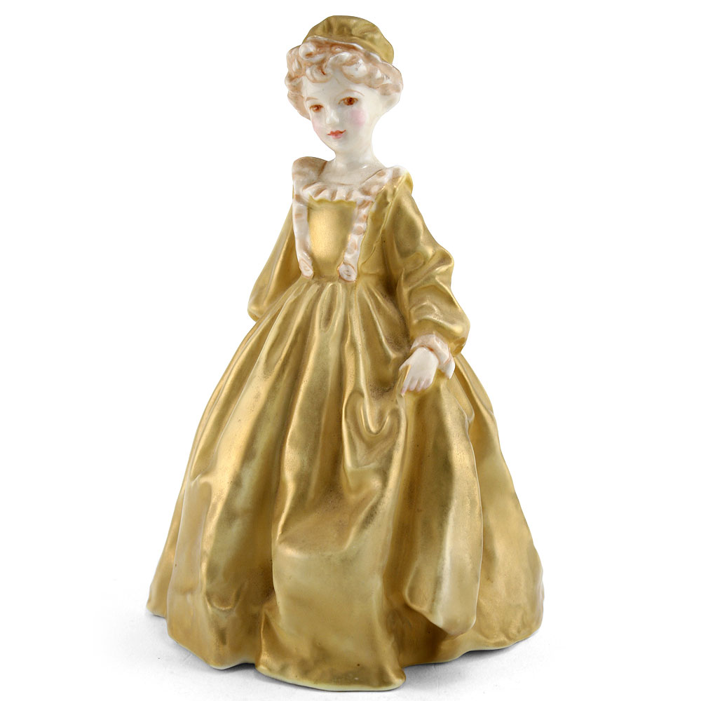 Grandmothers Dress (Gold) RW3081 - Royal Worcester