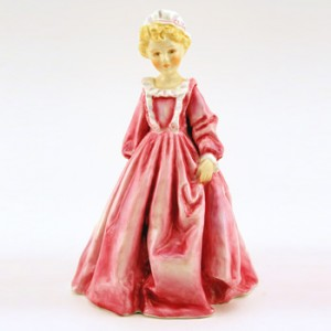 Grandmother's Dress Pink RW3081 - Royal Worcester