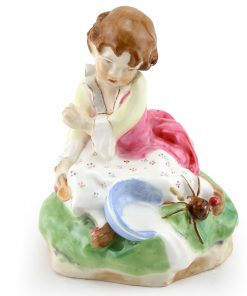 Little Miss Muffet Figurine - Royal Worcester
