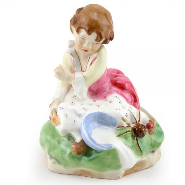 Little Miss Muffet Figurine - Royal Worcester