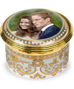 Royal Wedding Hinged Box - Royal Worcester
