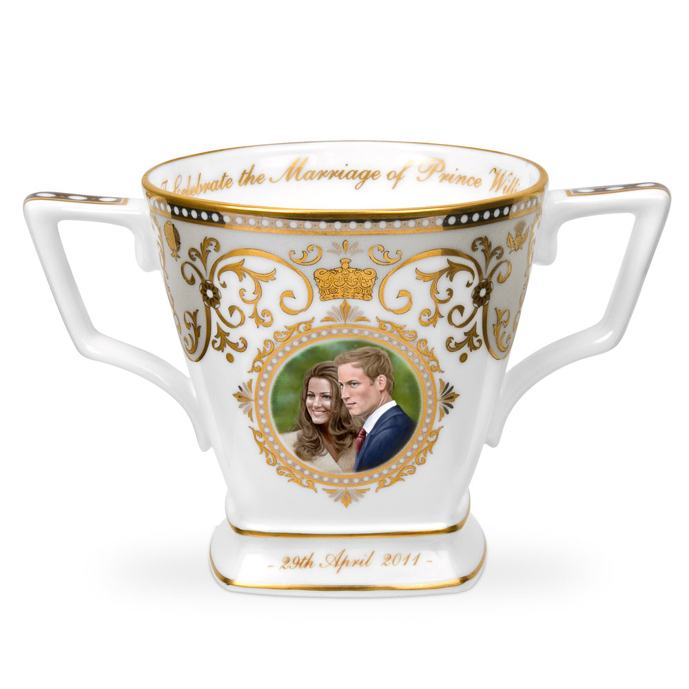 Royal Wedding Loving Cup - Royal Worcester