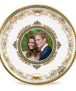 Royal Wedding Round Tray - Royal Worcester