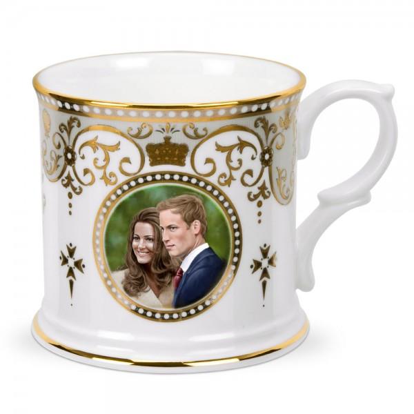 Royal Wedding Tankard - Royal Worcester
