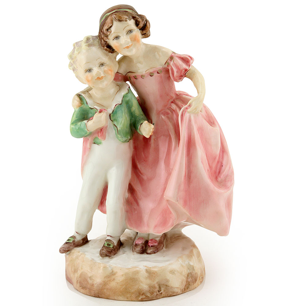 Sister RW3149 (Pink Dress) - Royal Worcester