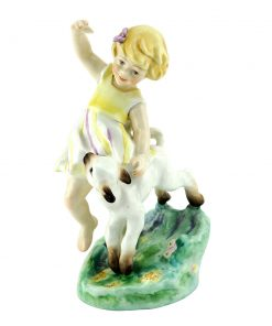 April RW3416 - Royal Worcester Figure