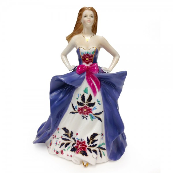 Caroline The Prince Regent Special Edition Figure CW508 - Royal Worcester Figure