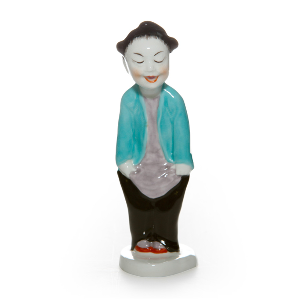 Chinoiserie Boy RW3354 - Royal Worcester Figure