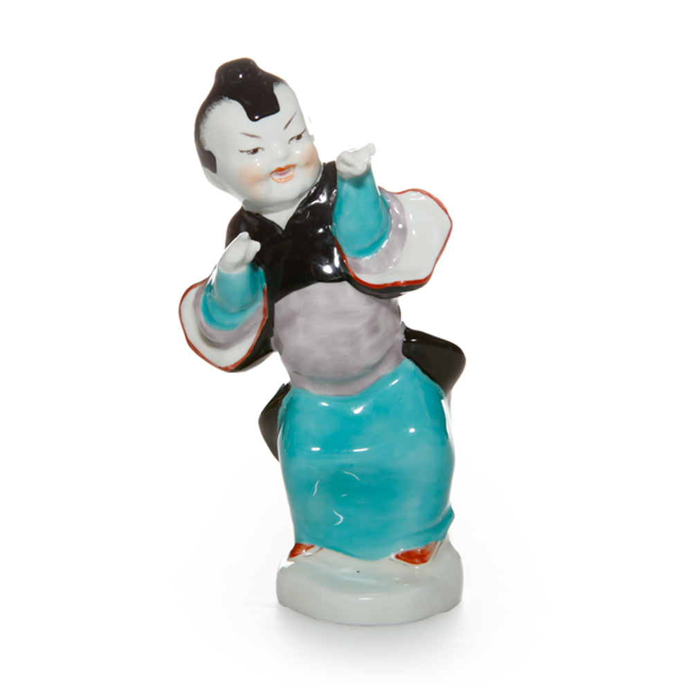 Chinoiserie Girl RW3362 - Royal Worcester Figure