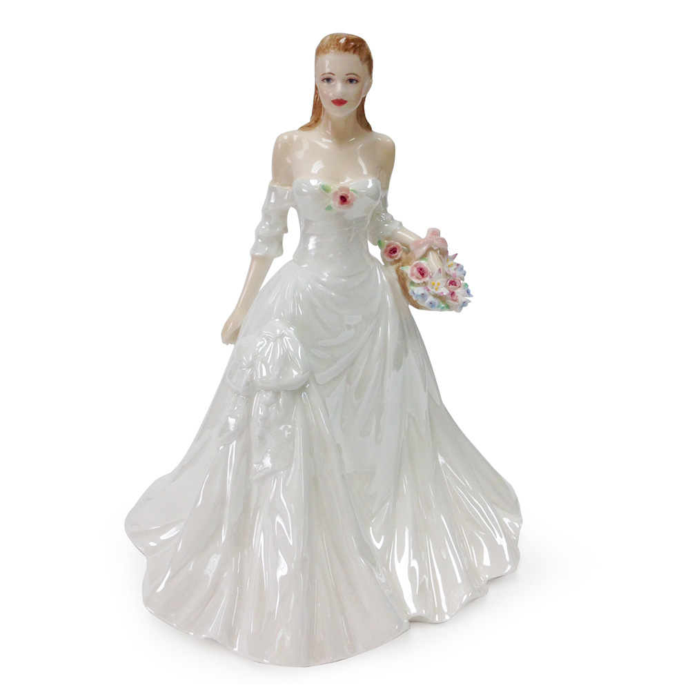 Darling Buds of May CW739 - Royal Worcester Figure