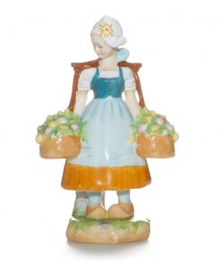 The Dutch Girl - Royal Worcester Figure
