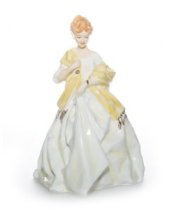 First Dance RW3629 Yellow - Royal Worcester Figure