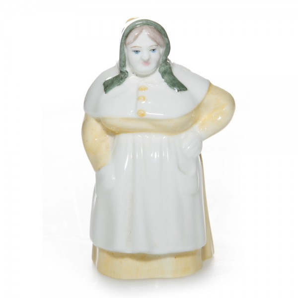 French Cook Candle Snuffer - Royal Worcester Candle Snuffer