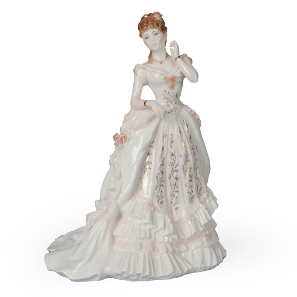 The Golden Jubilee Ball CW284 - Royal Worcester Figure