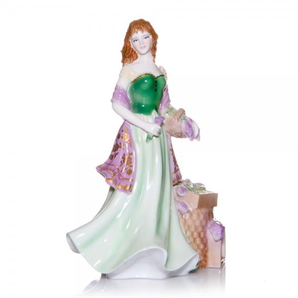 Lavender Seller RW4961 - Royal Worcester Figure