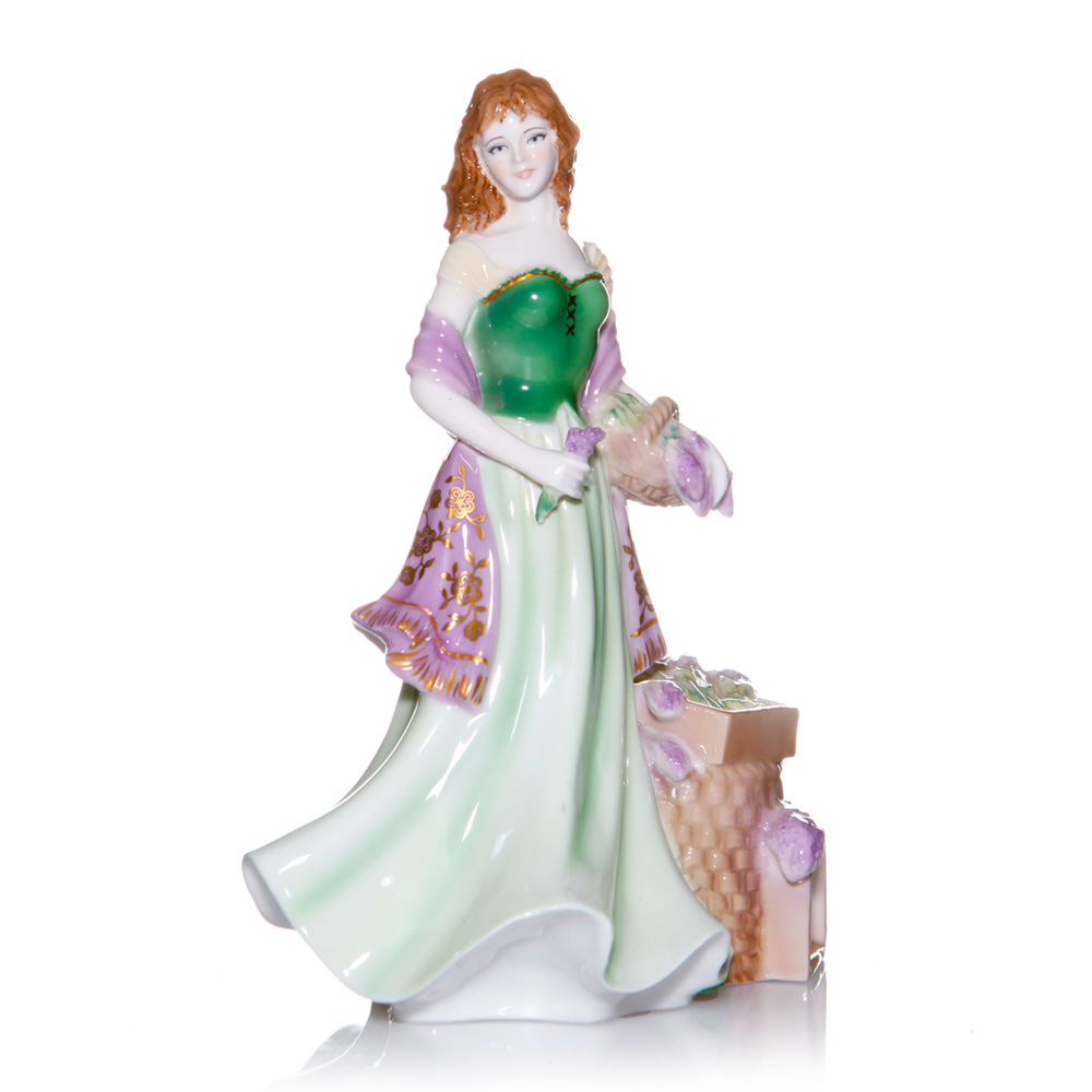 Lavender Seller RW4961 - Royal Worcester Figure