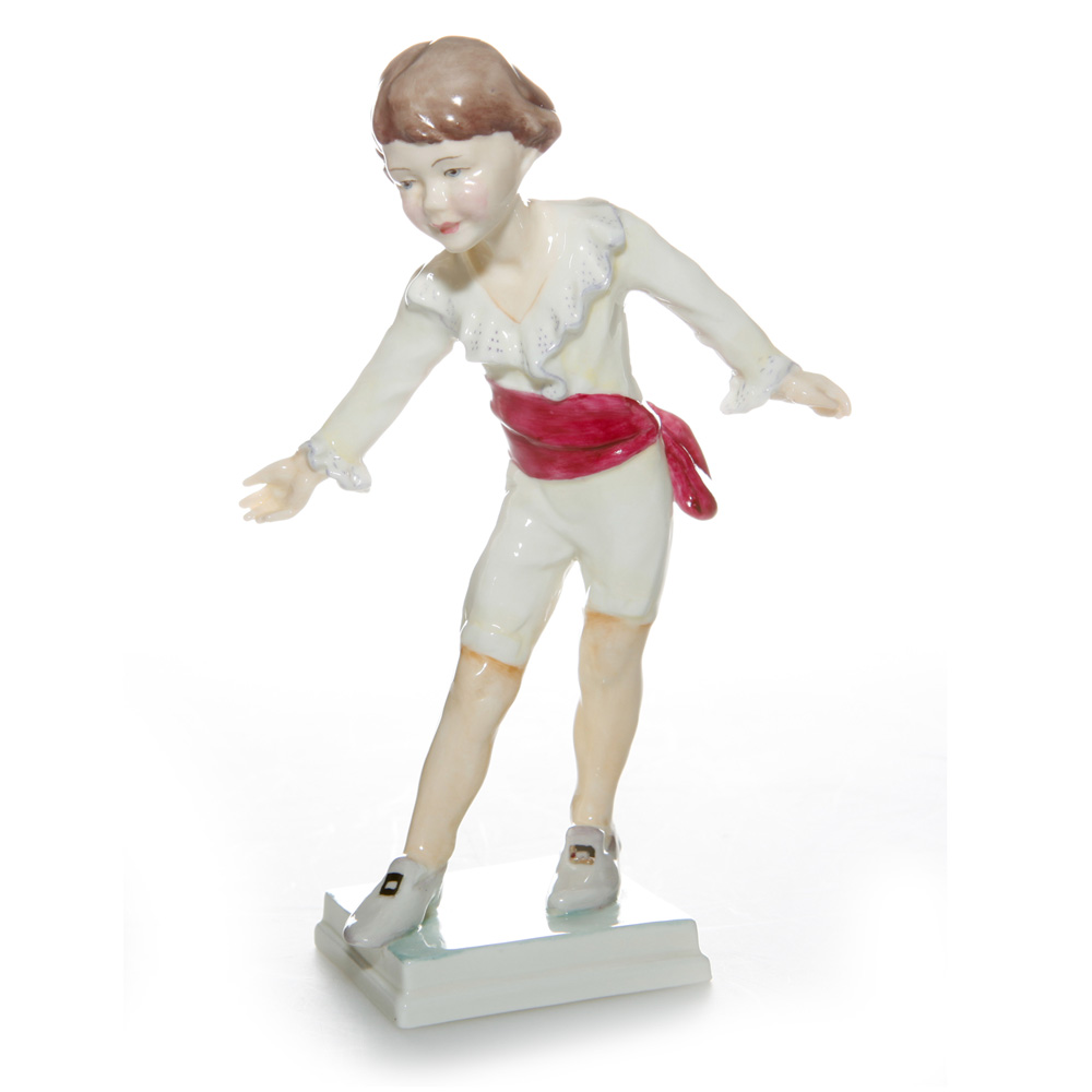Masquerade Boy The Bow RW3359 - Royal Worcester Figure